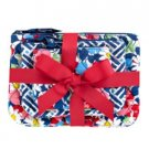 Vera Bradley Cosmetic Trio makeup bags Summer Cottage  NWT travel cases