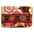 Vera Bradley One For The Money wallet cosmetic key case NWT Retired