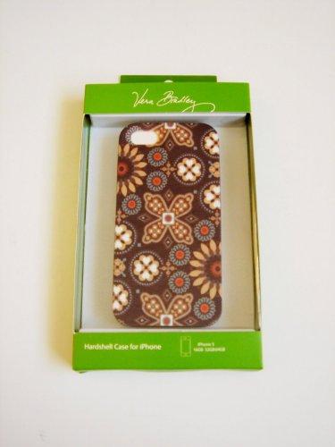 Vera Bradley iPhone 4/4S hardshell case FS Canyon brown smartphone cover NIB Retired