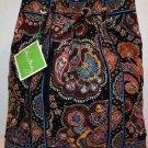 Vera Bradley Backsack backpack drawstring tote Kensington NWT Retired knitting laundry bag