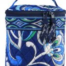 Vera Bradley Mediterranean Blue Cool Keeper insulated bottle bag travel cosmetic tote  pre-owned
