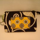 Vera Bradley Zip ID Case Yellow Bird • business credit card  PDA coin purse wallet  NWT Retired