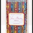 Vera Bradley Take Note Pencil collection set/10 Bali Blue & Gold ltd ed stationery