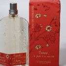 L'occitane Cherry Eau de Toilette EDT 100 ml 3.4 oz Ltd Ed. Cerisier VHTF perfume