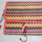 Missoni for Target Valet hanging cosmetic travel organizer  Colore chevron zig zag  makeup case NWT