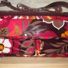 Vera Bradley mini Cooler Carnaby  insulated lunch tote  travel cosmetic case Retired