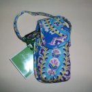 Vera Bradley Cell phone Case Capri Blue FS tech makeup holder   NWT Retired