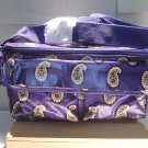 Vera Bradley mini Cooler insulated lunch tote travel cosmetic Simply Violet • NWT Retired HTF