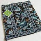 Vera Bradley Backsack Java Blue • tote knitting drawstring laundry bag - NWT  Rare Retired