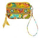 Vera Bradley Tech Case Provencal PDA mp3 cell ID credit card small phone coin wallet NWT