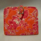 Vera Bradley Cards and Cuties Hope Toile • Photo ID Card case  Retired