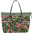 Botanica Vera Bradley Super Tote XL  • NWT Retired  beachbag weekend overnight carryall diaper FS