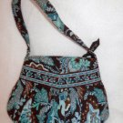 Vera Bradley Hannah small purse evening bag Java Blue     NWT Retired girls  purse