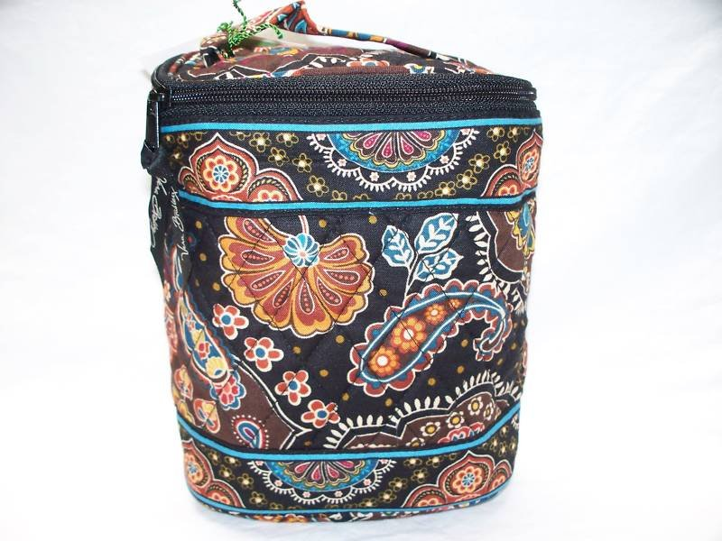 Vera Bradley Cool Keeper Kensington Retired NWT insulated travel cosmetic bottle lunch bag �