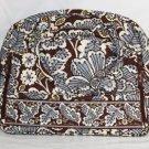 Vera Bradley Metropolitan laptop case in Slate Blooms Retired NWT  satchel overnighter weekender