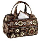 Vera Bradley Lunch Date Canyon insulated travel cosmetic bottletote  medicine case   Retired NWT