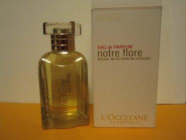 L'occitane Myrtle Eau de Parfum Notre Flore EDP � 2.5 fl oz 75 ml L occitane