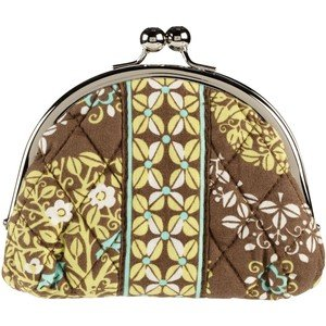 Vera Bradley Double Kiss Coin purse Sittin In A Tree � small pda change makeup clutch  NWT Retired