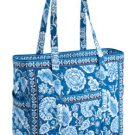 Vera Bradley Get Carried Away XXL Tote Blue Lagoon  overnight weekender, carry-on • NWT Retired