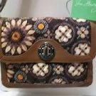 Vera Bradley Patricia crossbody Canyon handbag pocketbook hipster purse New