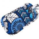 Vera Bradley Double Eye Blue Bayou soft eyeglass case  NWT htf FS