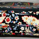 Vera Bradley Cooler Versailles insulated lunch case travel cosmetic bottle camera bag NWOT Retired