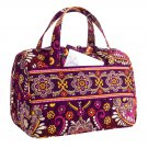 Vera Bradley Safari Sunset Lunch Date insulated travel cosmetic tote tech case Retired nwot