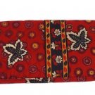Vera Bradley Curling Iron Cover Red Coin travel curling brush flat iron • Rare NWT Retired