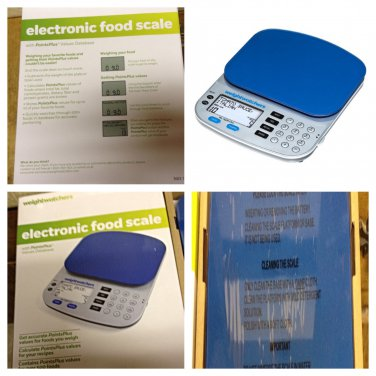 Weight Watchers Electronic Food Scale Points Plus Values