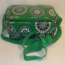 Vera Bradley Mini Cooler Cupcakes Green lunch bottle travel cosmetic insulated tote   Retired NWT