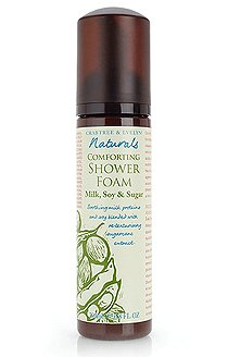 Crabtree Evelyn Naturals Shower Foam X2 Milk, Soy & Sugar - comforting, body wash