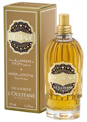 L'occitane Eau d'Iparie EDT large 4.2 oz sealed box perfume myrrh incense