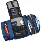 eBags Pack-It-Flat toiletry cosmetic travel case nwt DENIM blue  flat packing accessory