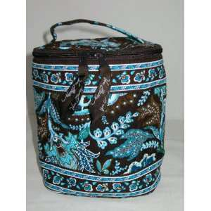 Vera Bradley Cool Keeper Java Blue FS bottle bag travel cosmetic lunch tote Retired