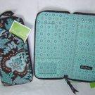 Vera Bradley Travel Organizer zip around wallet Java Blue FS NWT Retired - clutch  passport case