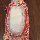 Vera Bradley Shoe Bag travel packing case Capri Melon NWOT Retired  VHTF