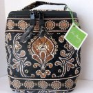 Vera Bradley Cool Keeper Caffe Latte FS insulated bottle travel cosmetic snack lunch • NWT Retired