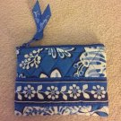 Vera Bradley Coin Purse Blue Lagoon  id credit card case  NWT Retired