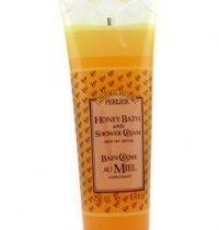 Perlier Honey Bath and Shower Cream X2  original version made in  Italy