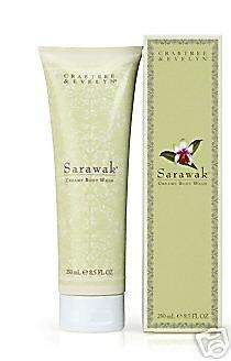 Crabtree Evelyn Sarawak Creamy Body Wash FS bath shower gel NIB Disc'd