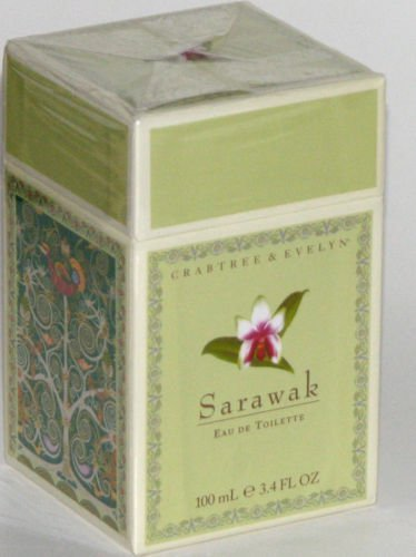 Crabtree Evelyn Sarawak Eau de Toilette FS Fragrance  EDT 3.4 oz 100 ml Disc'd