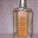 L occitane Cinnamon Orange EDT 1.7 oz 50 ml UNboxed FS Original HTF Cannelle Eau de Toilette perfume