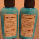 Bath Body Works Ile de Tahiti INU 1.7oz X2 Travel Lotion FS Coconut Vanille 1.7 oz / 50 ml