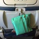 Flight 001 Seat Pack Green mint travel in-flight organizer case zip clutch packing accessory FS