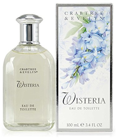 Crabtree Evelyn Wisteria Eau de Toilette original classic version  FS 3.4 oz. perfume  Disc'd