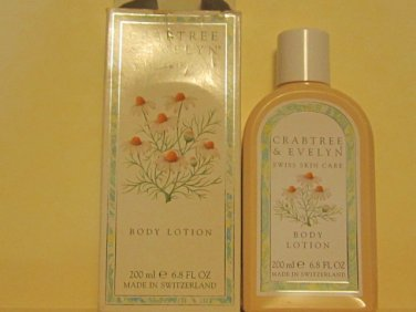Crabtree Evelyn Swiss Skin Care Body Lotion  Rare, discontinued.    shelfwear box