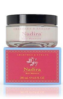 Crabtree Evelyn Nadira Rich Meringue Body Cream FS  shea, sweet almond  Disc exclusive