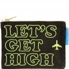 Flight 001 Let's Get High Canvas Pouch F1  travel accessory tech toiletry case FS