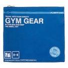 Flight 001 Gym Gear Go Clean laundry bag drawstring tote backpack case Blue FS