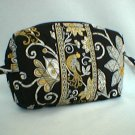 Very Bradley Yellow Bird Small Cosmetic case makeup bag NWT Retired FS